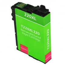Epson T220 XL High Yield Magenta Remanufactured Printer Ink Cartridge