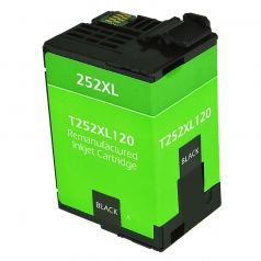Epson T252 XL High Yield Black Remanufactured Printer Ink Cartridge