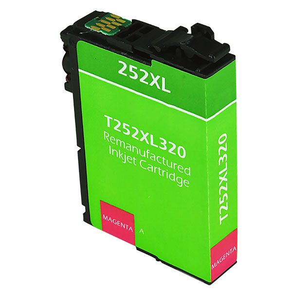 Epson T252 XL High Yield Magenta Remanufactured Printer Ink Cartridge
