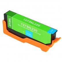 Epson T273 XL High Yield Cyan Remanufactured Printer Ink Cartridge