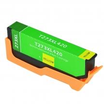 Epson T273 XL High Yield Yellow Remanufactured Printer Ink Cartridge