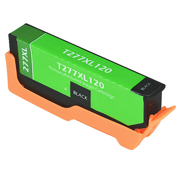 Epson T277 XL Black Remanufactured Printer Ink Cartridge