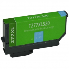 Epson T277 XL Light Cyan Remanufactured Printer Ink Cartridge