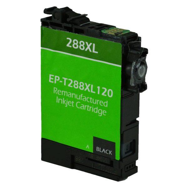 Epson T288 XL High Yield Black Remanufactured Printer Ink Cartridge