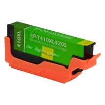 Epson T410 XL High Yield Yellow Remanufactured Printer Ink Cartridge
