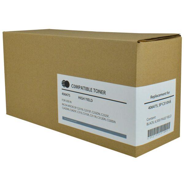 Ricoh 406475 High Yield Black Compatible Copier Toner Cartridge