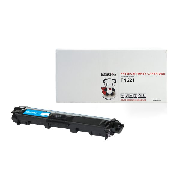 Brother TN221C Cyan Compatible Toner Cartridge