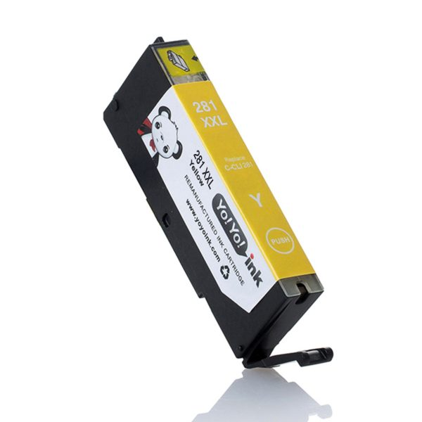 Canon CLI-281 XL High Yield Yellow Compatible Printer Ink Cartridge i