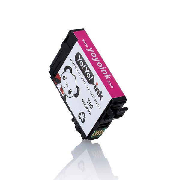 Remanufactured Epson T60 Magenta Printer Ink Cartridge