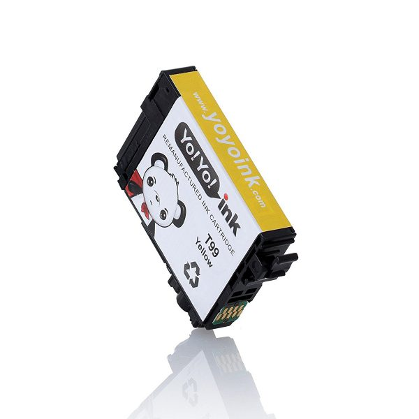 Remanufactured Epson T99 Yellow Printer Ink Cartridge