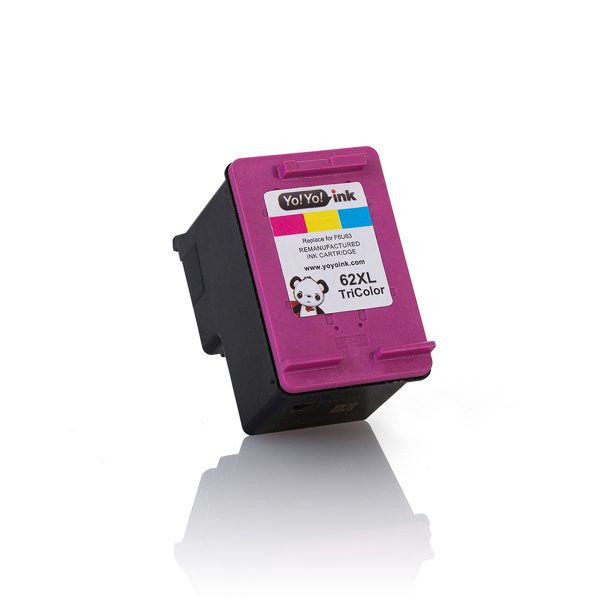 HP 62 XL High Yield Color Remanufactured Printer Ink Cartridge i
