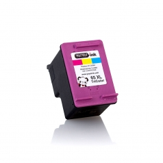 Remanufactured HP 65XL High Yield Color Printer Ink Cartridge