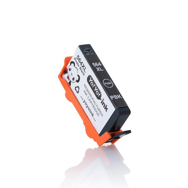 HP564 XL High Yield Photo Black Remanufactured Printer Ink Cartridge