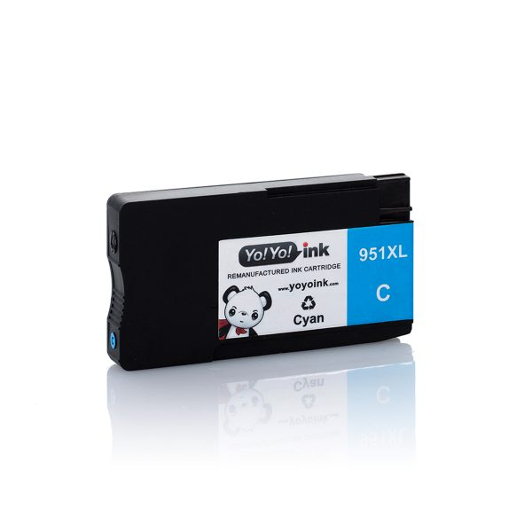 HP951 XL High Yield Cyan Remanufactured Printer Ink Cartridge