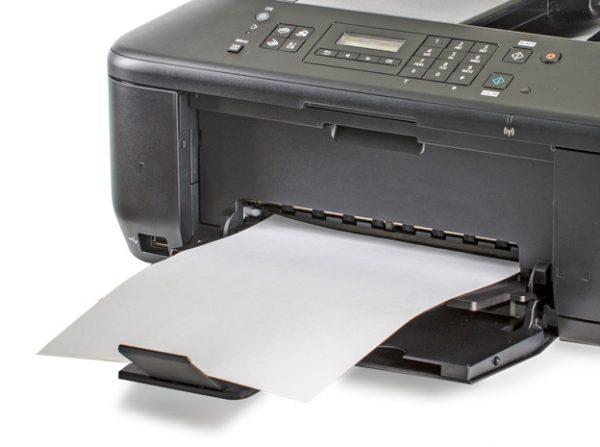 Printer-prints-blank-page