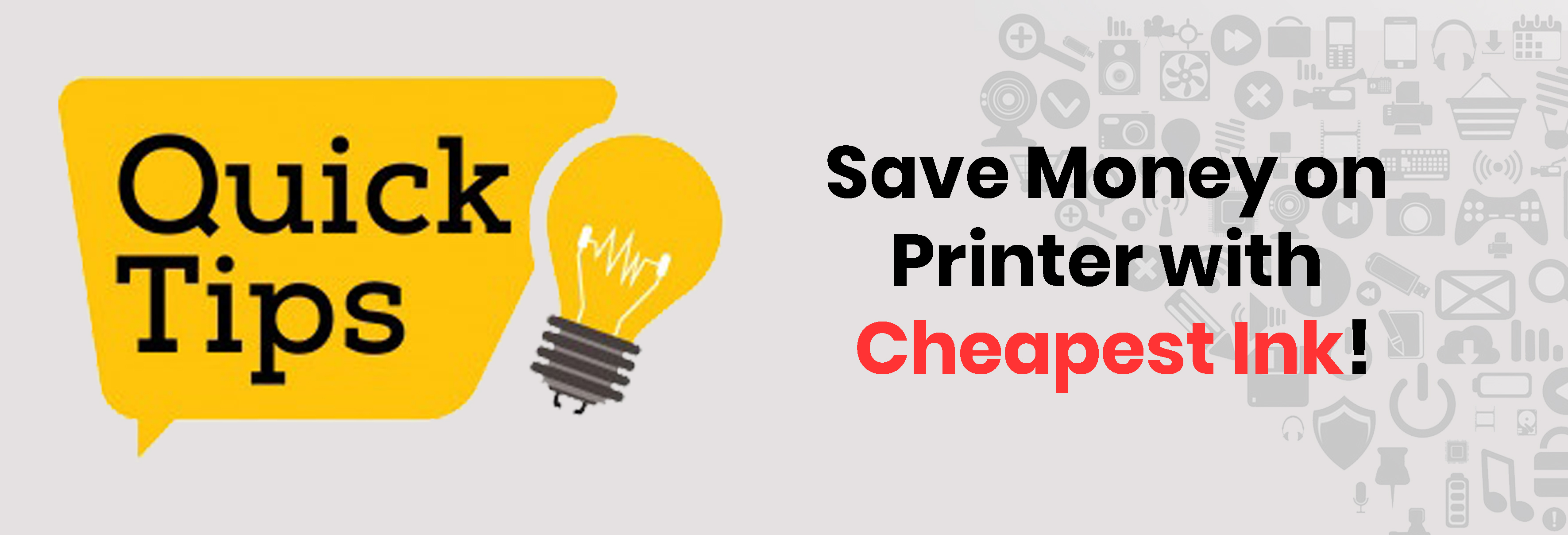 Save Money on Printer with Cheapest Ink: 5 important tips!