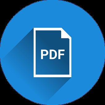 PDF File icon or symbol