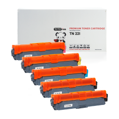 Brother TN221 toner 5 pack