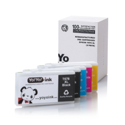 Epson 676 XL ink cartridges 5-Pack (2 Black, 1 Cyan, 1 Magenta, 1 Yellow)