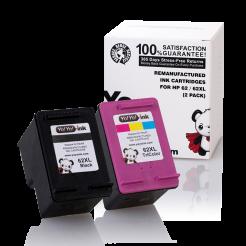 HP 62XL ink cartridges 2 pack