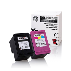 HP 63XL ink cartridge combo pack