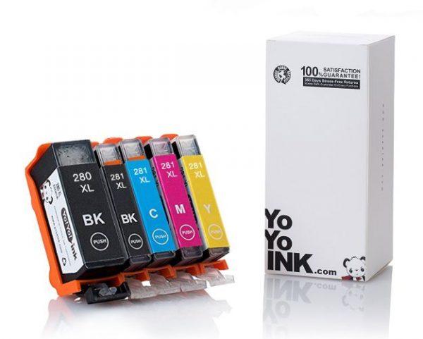 Canon PGI-280XL CLI-281 5 Color Pack Ink Cartridge (1)