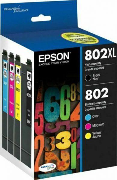 Epson T802XL-BCS DURABrite Ink Cartridge (1)