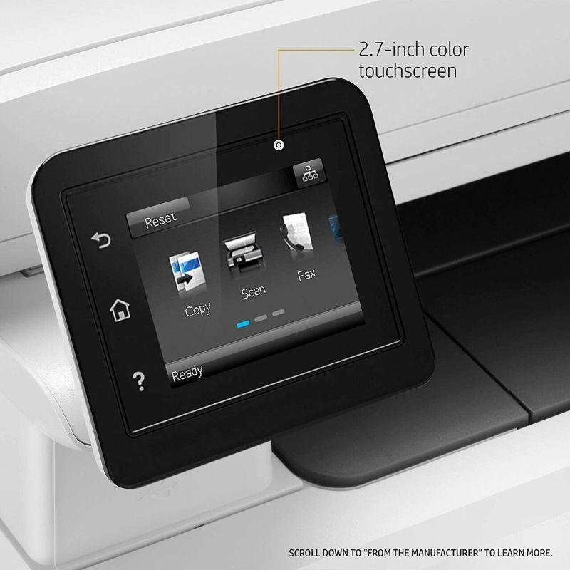 HP Color LaserJet Pro MFP M281fdw touchscreen