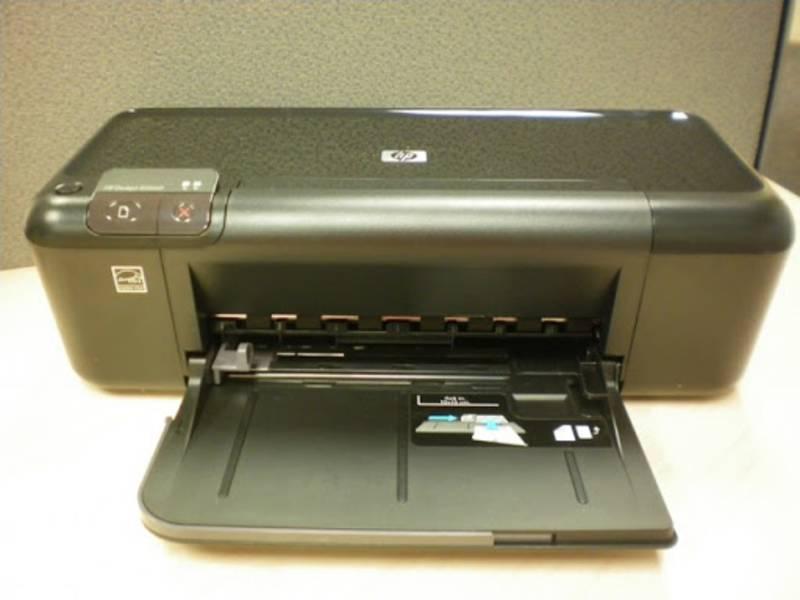 HP Deskjet D2600 paper tray