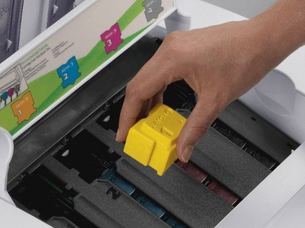 solid ink cartridges