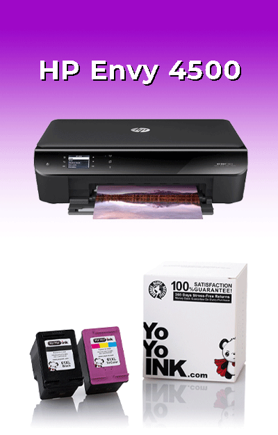 HP 4500 Ink Cartridges: Low Cost, Great Results